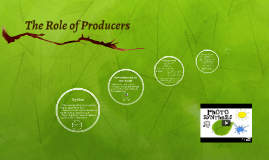The Role of Producers