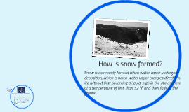 How does snow form?