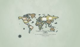 Lesson 1: Human Population Growth