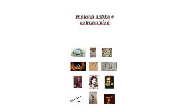 Historia Antike e Astronomise