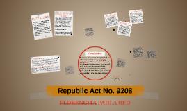 REPUBLIC ACT NO 9208 PDF DOWNLOAD