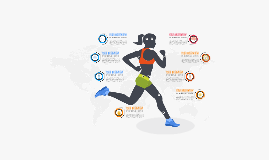Women sport infographic Prezi template