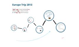 Miss. Ausman's Europe Trip Project