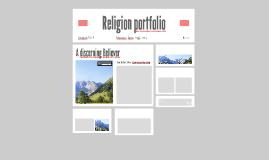 Religion portfolio