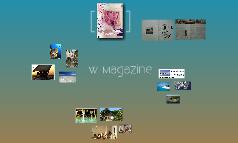 Niki de Bruijn: W Magazine