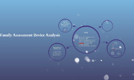 Family Assessment Device Analysis
