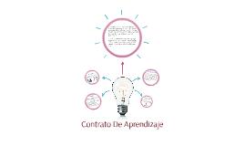 CONTRATO DE APRENDIZAJE