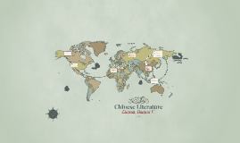 Copy of Chinese Literature