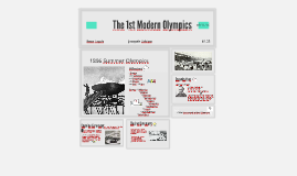 The 1st Olympics