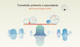 Transición Prim-Sec