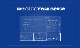 Tools for the Everyday Classroom