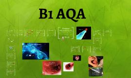 B1 AQA GCSE