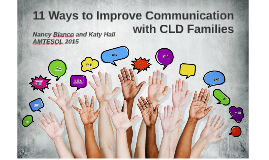 11 Ways to Improve Communication with EL Families