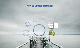 How to Choose Electives and Classes
