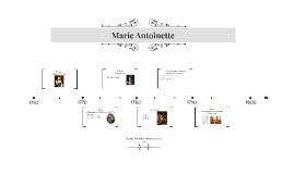 presentatie Franse geschiedenis: Marie Antoinette