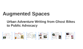 Augmented Spaces: Ghost Bikes and Public Advocacy