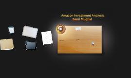 Amazon Analysis