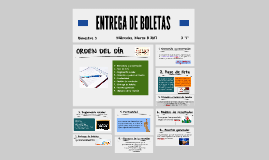 ENTREGA DE BOLETAS 3° BIM_2I