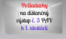 16_poziadavky_na_distancny_vystup