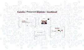 Karolis / Polaroid Blipfoto / ScotGrad