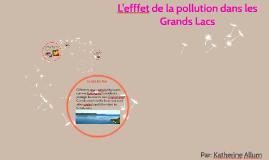 L'efffet de la pollution dans les Grands Lacs