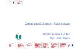 Zbrojní politika Francie a Velké Británie