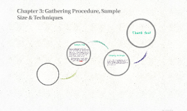 Chapter 3: Gathering Procedure, Sample Size & Techniques