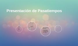 Presentación de Espanol