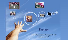 Protest - Political engagement
