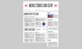 MEDIA STUDIES AND CO OP