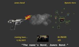 James Bond Byronic Hero