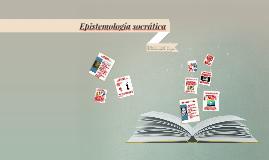 Epistemología socrática