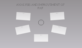 ANALYSIS AND IMPROVEMENT OF FAF
