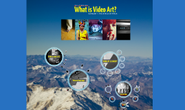 What is videoart?