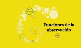 Copy of Funciones de la observación