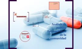 Análisis de puesto: Farmacéutico de la comunidad
