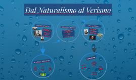 Dal Naturalismo al Verismo