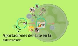 Aportaciones del arte en la educación