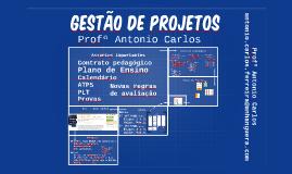 GESTÃO DE PROJETOS - ASSUNTOS IMPORTANTES
