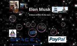 Presentation of Elon Musk
