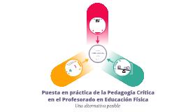 La pedagogía crítica en el PEF