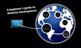 A beginner's guide to website development