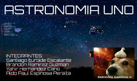 ASTRONOMIA UNO