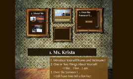 Who is Ms. Krista?