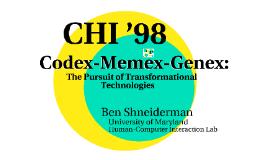 [draft] Codex-Memex-Genex