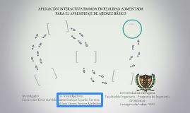 APLICACIÓN INTERACTIVA BASADA EN REALIDAD AUMENTADA PARA EL