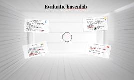 Evaluatie havenlab