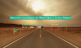 Itinerario cronológico de Ulises Lima y Arturo Belano