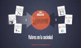 Valores en la sociedad