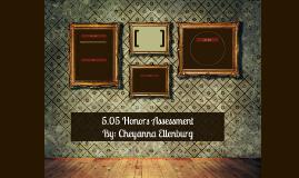 5.05 Honors Assessment